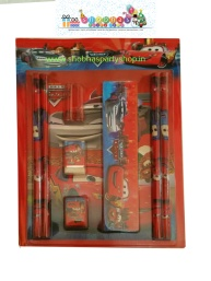 Stationary gift set with 4 pencils,scale,eraser,sharpener,bookand 2 caps.jpg (5)