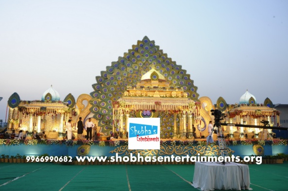 wedding and reception stage decorators in hyderabad (11)