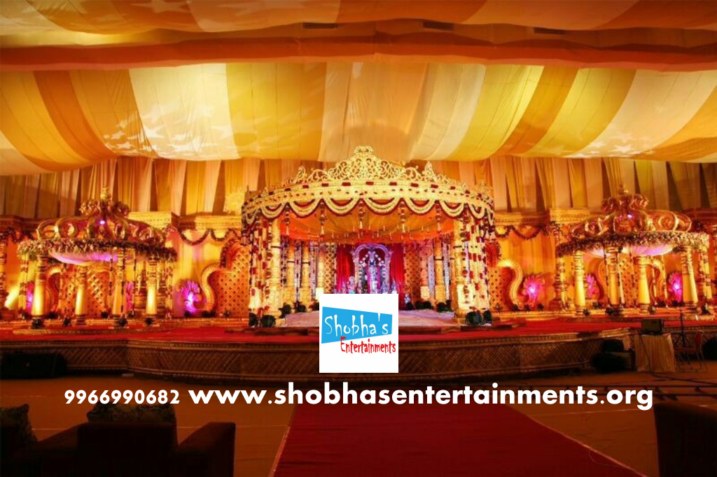 Wedding event organizers and wedding planners in hyderabad wedding stage flower and reception stage decorations in hyderabad 122 junglespirit Gallery
