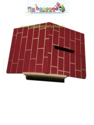 wooden house money banks medium 100 (5)