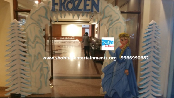 frozen theme stage decorations.jpg  (11)