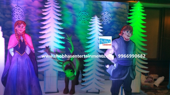 frozen theme stage decorations.jpg  (7)