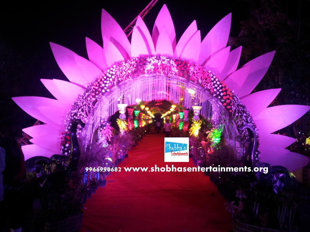 Reception decorations,engagement decorators, sangeet cermony ...