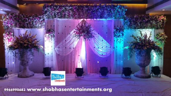 engagement and reception wedding decorators in hyderabad (3)
