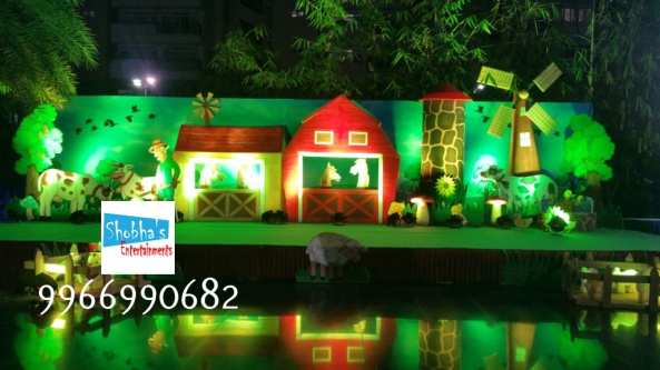 old mcdonald birthday theme decoration (8)
