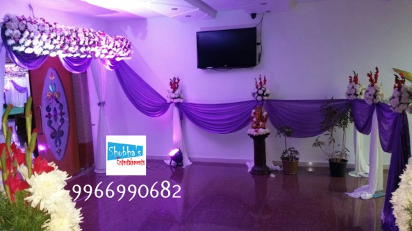 reception and engagement stage flower decorations in hyderabad (10)
