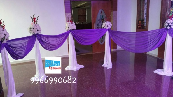 reception and engagement stage flower decorations in hyderabad (5)