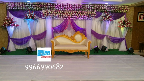 reception and engagement stage flower decorations in hyderabad (8)