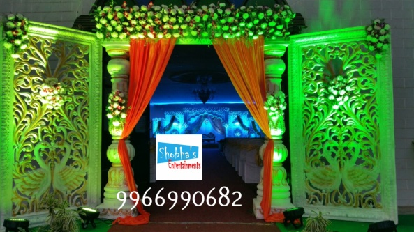 Reception decorations,engagement decorators, sangeet ceremony organizers , wedding flower decorations and event organizers in Hyderabad (10)