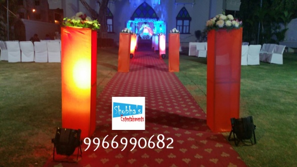 Reception decorations,engagement decorators, sangeet ceremony organizers , wedding flower decorations and event organizers in Hyderabad (15)