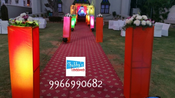 Reception decorations,engagement decorators, sangeet ceremony organizers , wedding flower decorations and event organizers in Hyderabad (17)