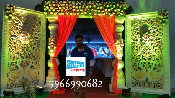Reception decorations,engagement decorators, sangeet ceremony organizers , wedding flower decorations and event organizers in Hyderabad (8)