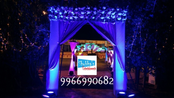 Reception stage flower decorators and wedding planners in hyderabad (1)