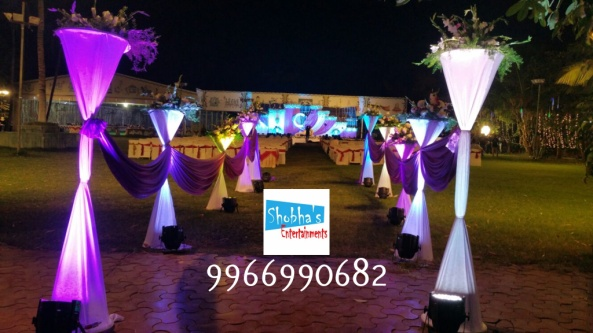 Reception stage flower decorators and wedding planners in hyderabad (2)