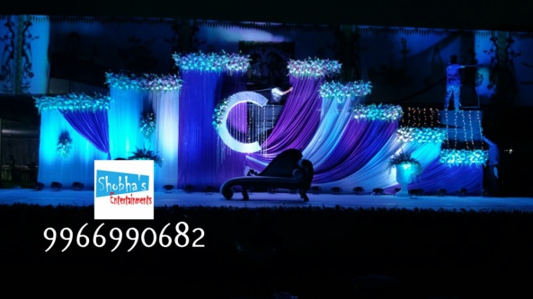 Reception stage flower decorators and wedding planners in hyderabad (6)