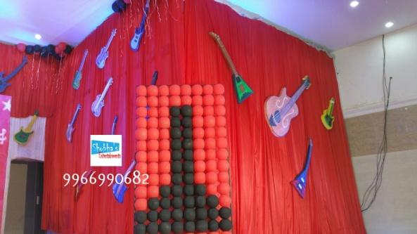 rockstar theme birthday party decorations in Hyderabad (11)