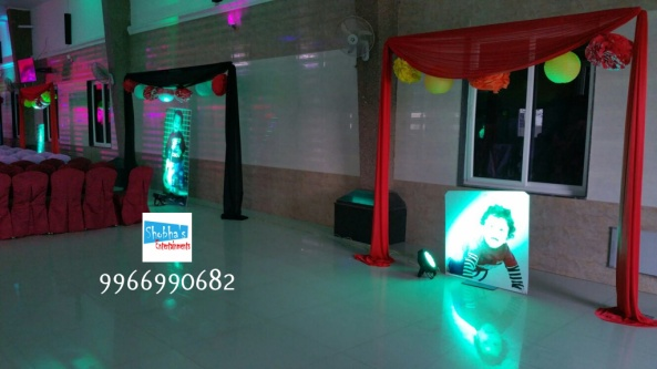 rockstar theme birthday party decorations in Hyderabad (17)