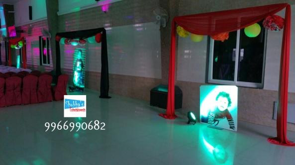 rockstar theme birthday party decorations in Hyderabad (17)