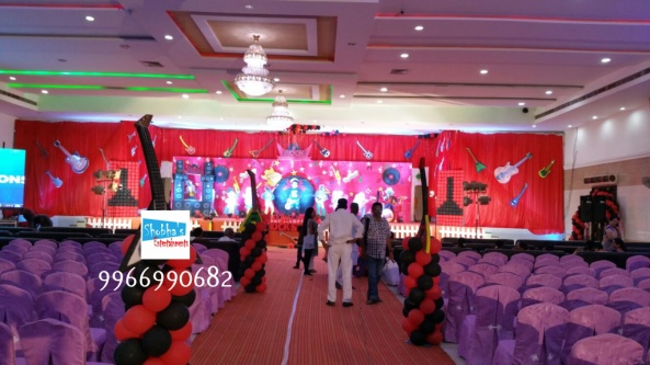 rockstar theme birthday party decorations in Hyderabad (20)