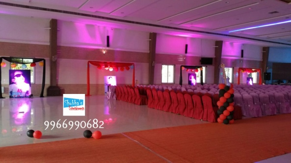 rockstar theme birthday party decorations in Hyderabad (21)