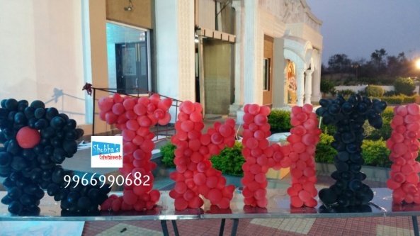 rockstar theme birthday party decorations in Hyderabad (5)