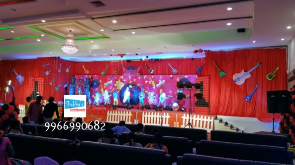 rockstar theme birthday party decorations in Hyderabad (6)