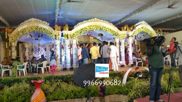 wedding mandap decorators in Hyderabad (1)
