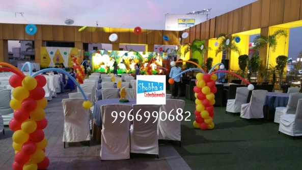 wiini the pooh theme birthday decorations in Hyderabad (1)