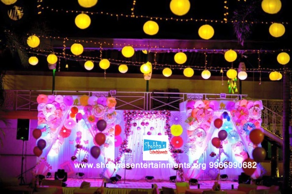 1elegant birthday party decorators in hyderabad
