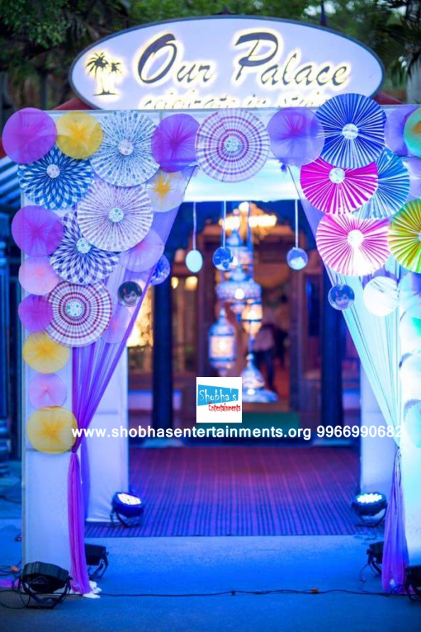 Elegant birthday party decorators in hyderabad shobha 39 s for Balloon decoration for birthday party in hyderabad