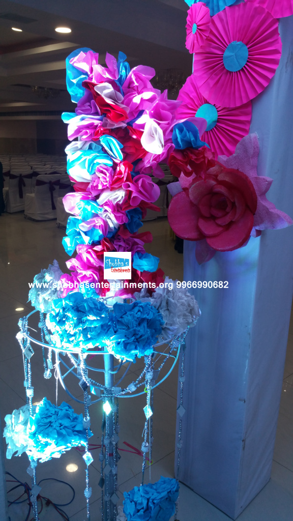 paper flowers birthday party decorators in Hyderabad (10)