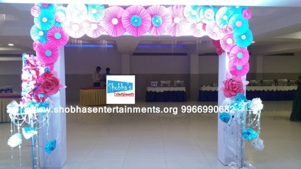 paper flowers birthday party decorators in Hyderabad (3)
