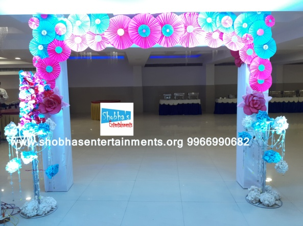 paper flowers birthday party decorators in Hyderabad (38)