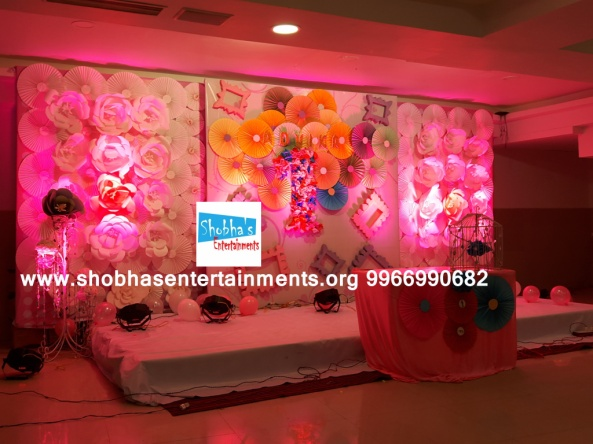 paper flowers birthday party decorators in Hyderabad (46)