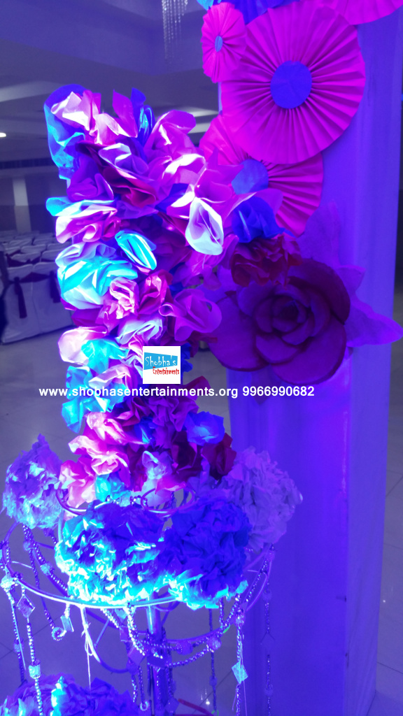 paper flowers birthday party decorators in Hyderabad (5)