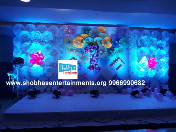 paper flowers birthday party decorators in Hyderabad (56)