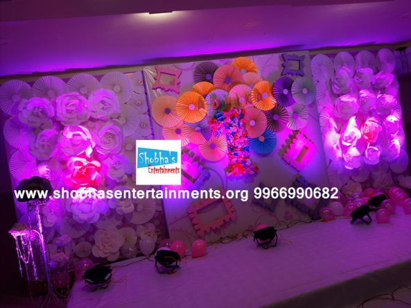 paper flowers birthday party decorators in Hyderabad (59)