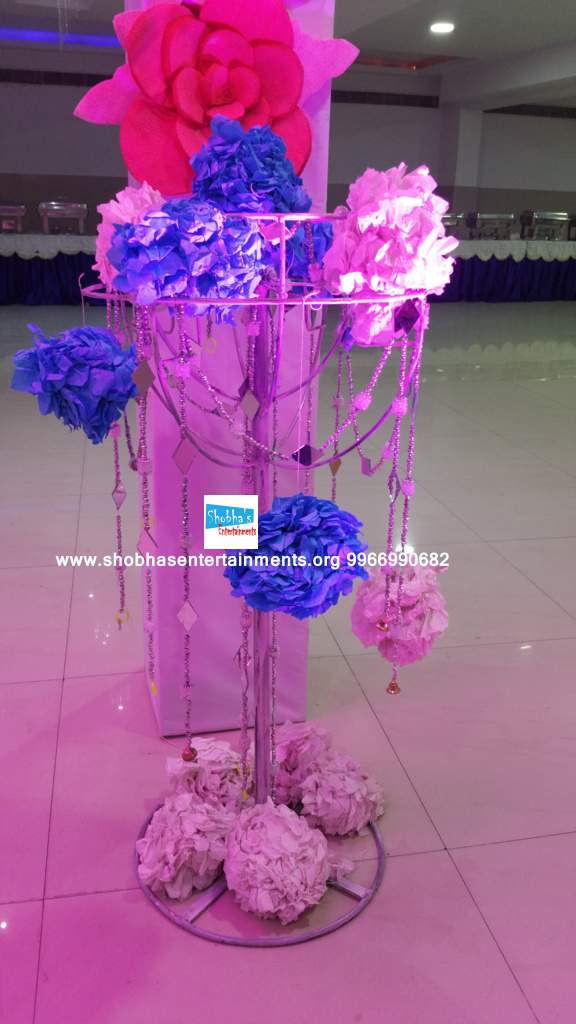 paper flowers birthday party decorators in Hyderabad (6)