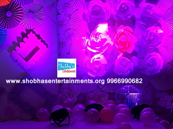 paper flowers birthday party decorators in Hyderabad (61)