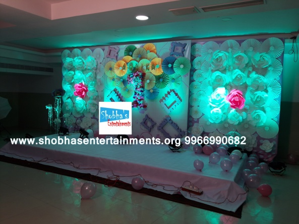 paper flowers birthday party decorators in Hyderabad (65)