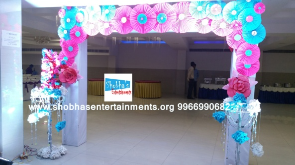 paper flowers birthday party decorators in Hyderabad (7)