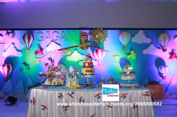 hotair balloons theme birthday decorators (2)