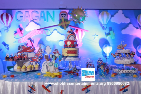 hotair balloons theme birthday decorators (3)