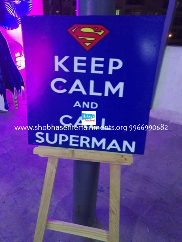 batman vs superman birthday theme decorators in Hyderabad (12)
