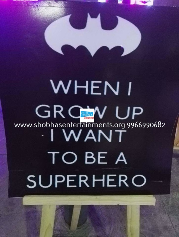 batman vs superman birthday theme decorators in Hyderabad (13)