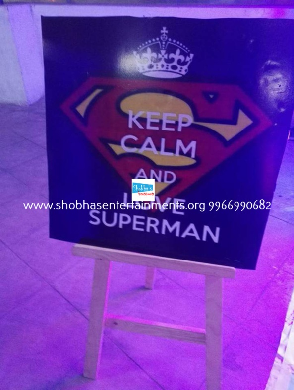batman vs superman birthday theme decorators in Hyderabad (2)