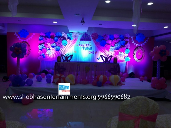 Paper craft flower birthday party decorators in Hyderabad (11)