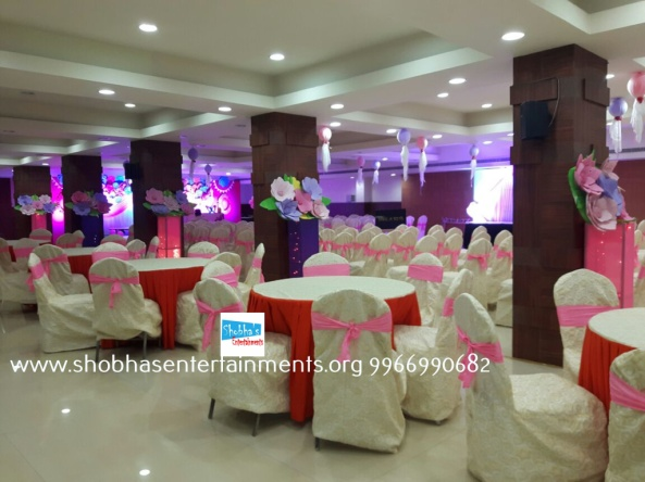 Paper craft flower birthday party decorators in Hyderabad (12)