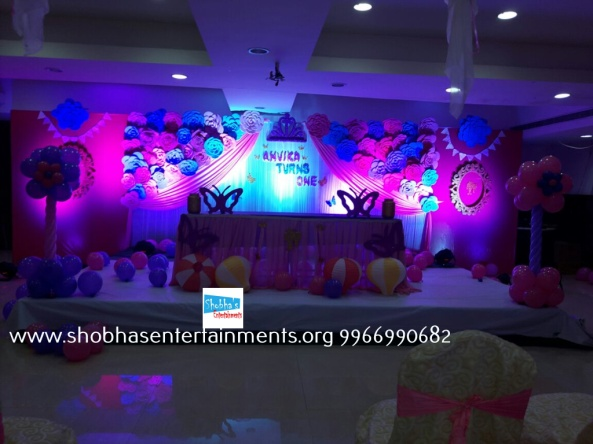 Paper craft flower birthday party decorators in Hyderabad (15)