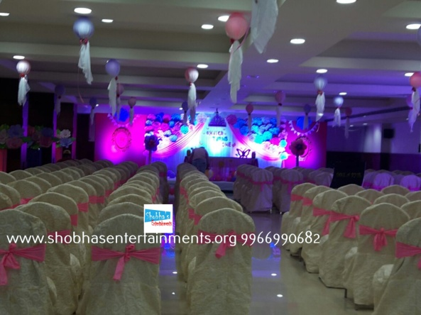 Paper craft flower birthday party decorators in Hyderabad (6)